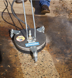 Paving stone sealing equipment in El Cajon, CA